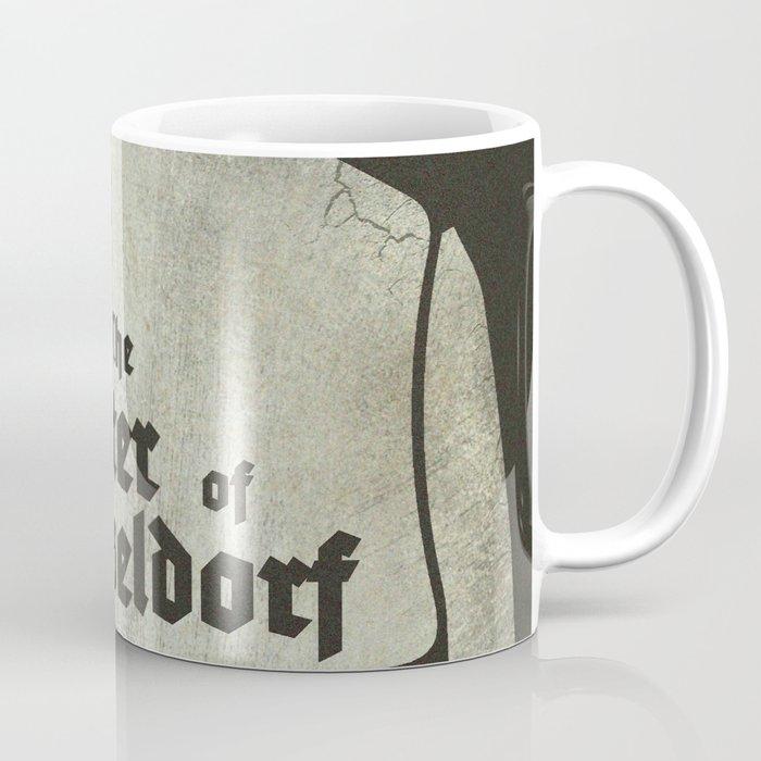 Fritz Lang, M The monster of Düsseldorf, Peter Lorre, minimalist movie, thriller, German film Coffee Mug