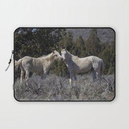 Wild Horses with Playful Spirits No 1 Laptop Sleeve