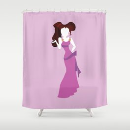Megara from Hercules Disney Princess Shower Curtain