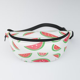 watermelon smiles Fanny Pack