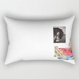 Care your skin Rectangular Pillow