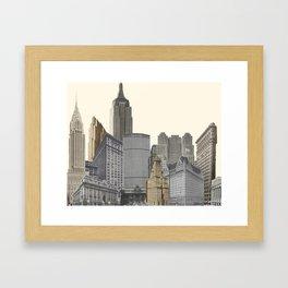 New York Architecture Framed Art Print