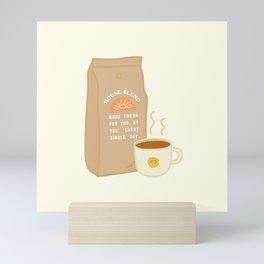 House Blend Coffee Mini Art Print
