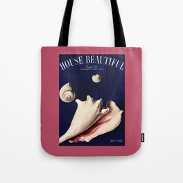 House Beautiful August 1936 Tote Bag