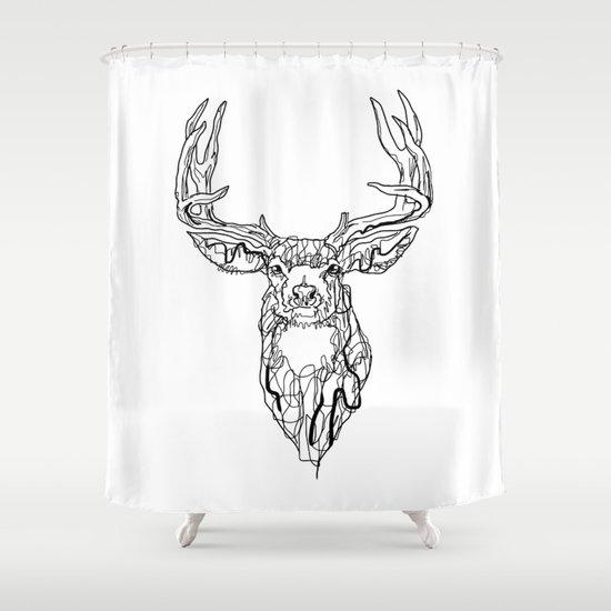 El Camino del Venado  Shower Curtain