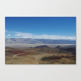Road to Death Valley Canvas Print