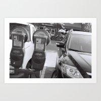 Parking Meter Art Print