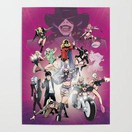 GagaForce - Villains Poster