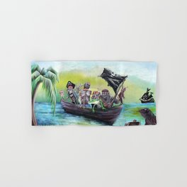 Pirate Booty Beach Hand & Bath Towel
