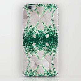 Hot Mint & Grey Water iPhone Skin