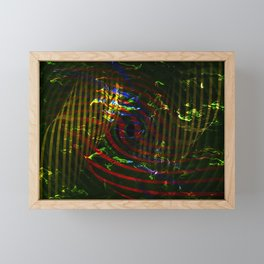 Concept abstract : Sensation Framed Mini Art Print