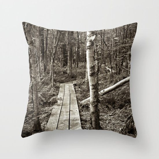 Let's Explore the World Together Throw Pillow