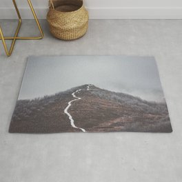 Clear path - Landscape and Nature Photography Rug
