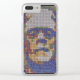 Frankenstein Clear iPhone Case