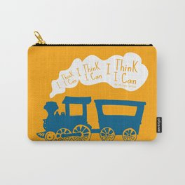 I Think I Can, I Think I Can, I Think I Can - The Little Engine that Could inspired Print Carry-All Pouch