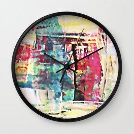 Neon 1 Wall Clock