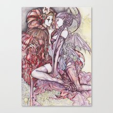 Devil & Jester Canvas Print