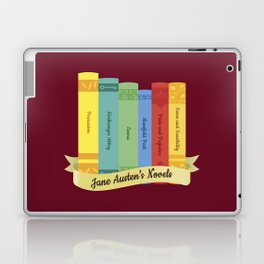 The Jane Austen's Novels IV Laptop & iPad Skin