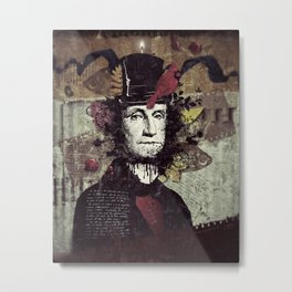 The Lord Metal Print