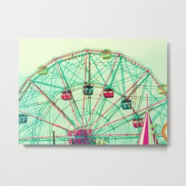 Marvelous Ferris Metal Print