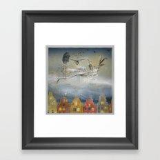 Rain Ballad Framed Art Print