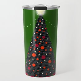 Christmas Tree with Glowing Star Travel Mug