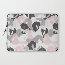 Playing Horses pattern Laptop Sleeve
