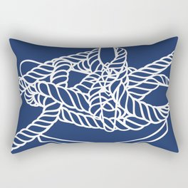 Knotical (NAVY) Rectangular Pillow