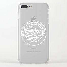 Ehlers-Danlos Society - Reverse Seal Clear iPhone Case