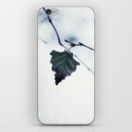 The last leaf iPhone Skin