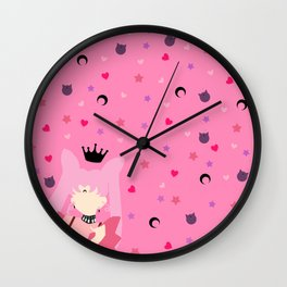 The Queen of Darkness Wall Clock