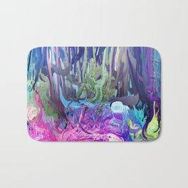 405 - Abstract Colour Design Bath Mat