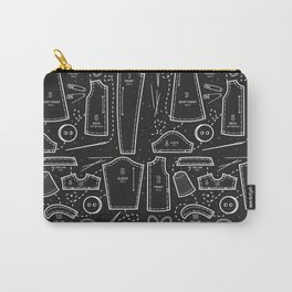 Sewing the Stars! Black Carry-All Pouch