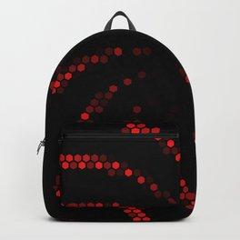 hexagonal spiral Backpack