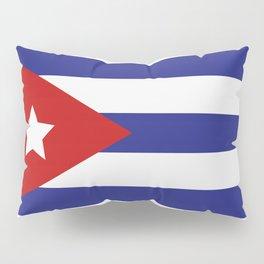 Cuba flag Pillow Sham