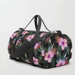 Honolua Tropic Black Duffle Bag