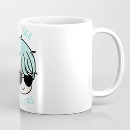 V mystic messenger can't see the haters Coffee Mug