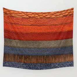 Cool colth texture design Wall Tapestry