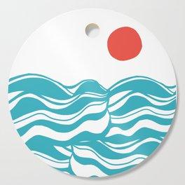 Swell, ocean waves Cutting Board