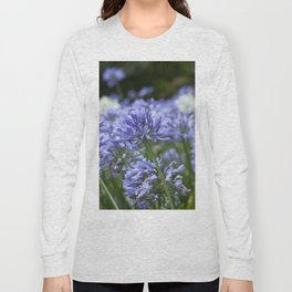 Flowering Agapanthus Long Sleeve T-shirt