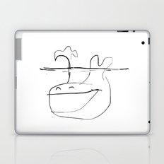 Happy Whale Laptop & iPad Skin