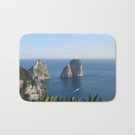 I Faraglioni di Capri Bath Mat