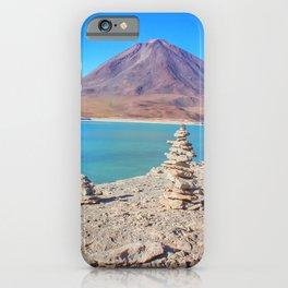 Laguna verde Bolivia iPhone Case