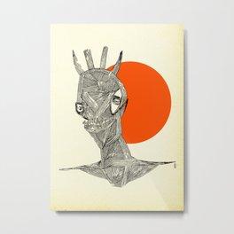 - halloween part 1 - Metal Print