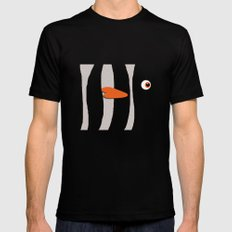 Cute Clown Fish Black Mens Fitted Tee MEDIUM