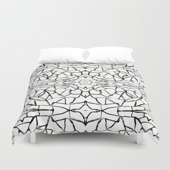 Abstract pattern 91A Duvet Cover
