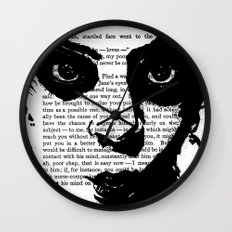 Without a Question Wall Clock
