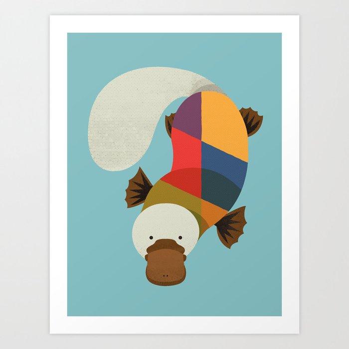Platypus Kunstdrucke
