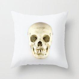 Skull Study 2 - Human  Throw Pillow