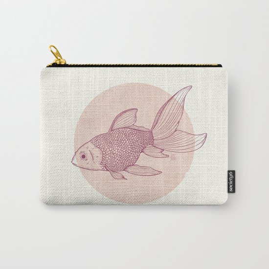 Lonely Goldfish Carry-All Pouch